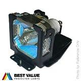 Replacement Projector Lamp POA-LMP51 / 610 300 7267 / LV-LP15 for SANYO PLC-XW20A PLC-XW20AR / EIKI LC-XM4 LC-XM4D / BOXLIGHT XP-8TA / CANON LV-X2 LV-X2E Projectors, Alda PQ Lamp with housing
