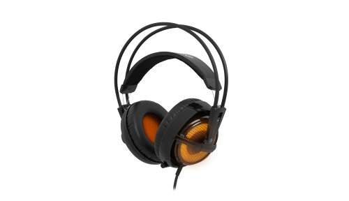 Steelseries Siberia V2 Full-Size Gaming Headset (Heat Orange) front-186376