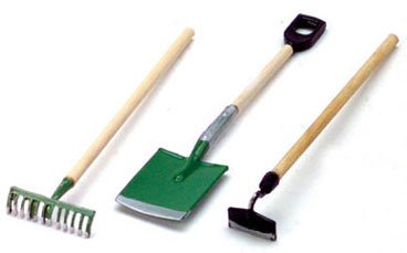Dollhouse Garden Tools - 1