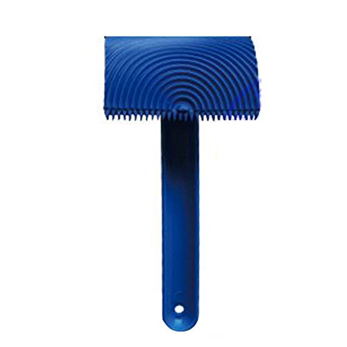 blue-rubber-wood-grain-graining-pattern-comb-wall-paint-painting-tool-with-handle-scumble-glaze-deco