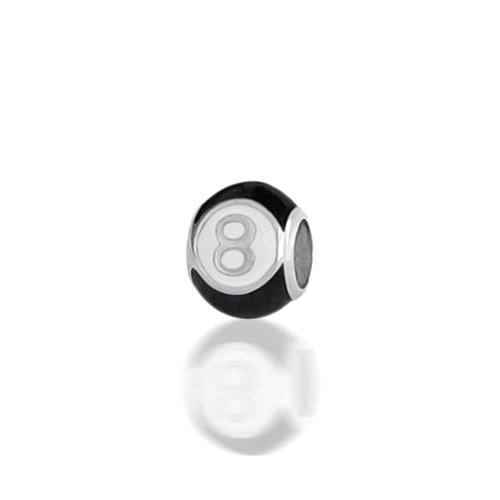 Bling Jewelry Magic Eight Ball 925 Sterling Silver Inspirational Bead Oriana Troll Pandora Compatible