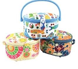1 SEWING BASKET OVAL SIZE 9-1/4