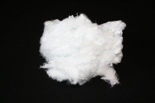 1 kg - Bastelwatte Füllwatte Kissenfüllung