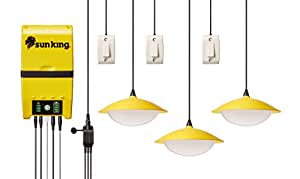 """Greenlight Planet SunKing """"Home60"""" Solar Lamp System"""