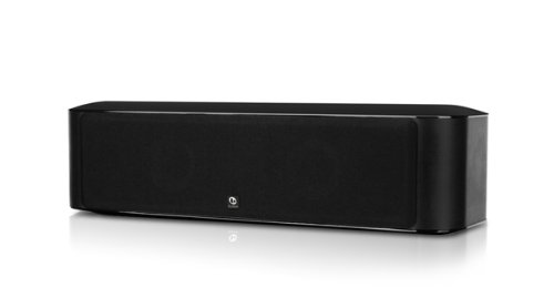 Boston Acoustics Mcenter 2-Way Channel Speaker, Black