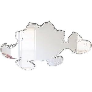Mungai Mirrors - Espejo acrílico, diseño de bebé estegosaurio por Mungai Mirrors