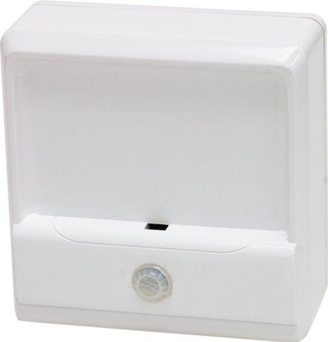 GE Stair Light, LED Battery Motion Sensing Indoor/Outdoor, White 17450