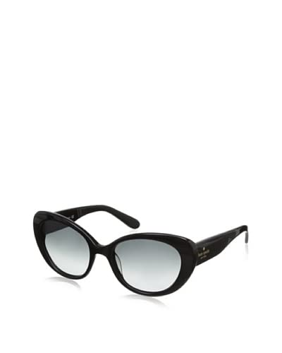 Kate Spade Women's Franca Sunglasses, Black As You See