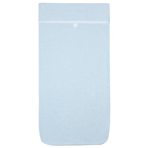 Kushies Multi-Fit Adjustable Bassinet Sheet, Blue
