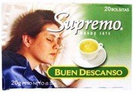 Amazon.com : Te Supremo Buen Descanso - Sleep E Z Tea 0.7 Oz - 20 Tea