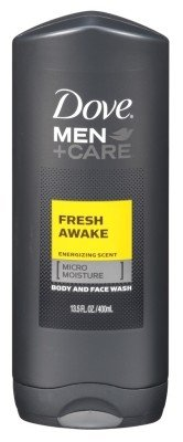Dove Men Plus Care Body and Face Wash, Fresh Awake, 13.5 Ounce
