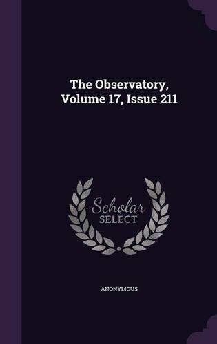 The Observatory, Volume 17, Issue 211