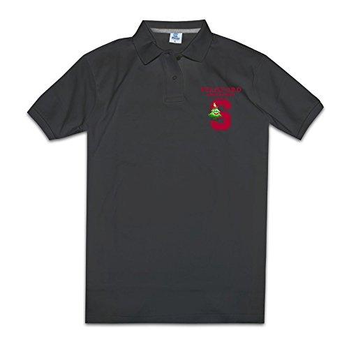 J3G9 Men's Stanford University Fashion T Shirt Size XXL Black (Larry Hoover Shirts compare prices)