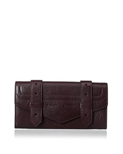 Proenza Schouler Women's New Continental Clutch, Oxblood As You See