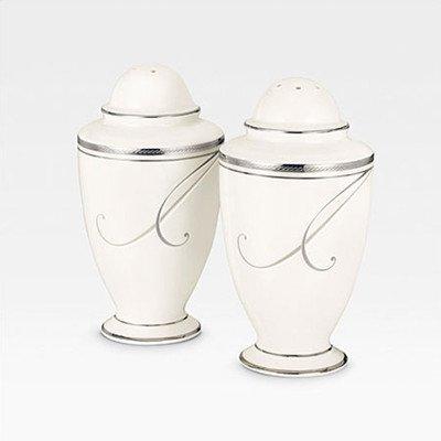 Noritake Platinum Wave Salt and Pepper Shakers (Noritake Salt And Pepper Shakers compare prices)