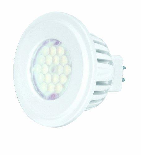 Kolourone S8813 4-Watt 60 Degree 5000K 12V, Lumens 200 Led Mr16 Lamp, White
