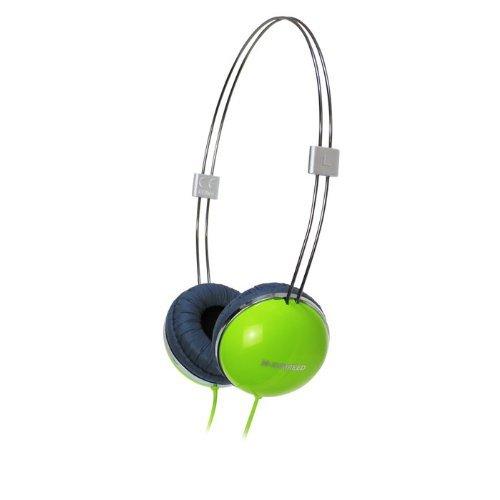 Zumreed Zhp-013 Airily Slim Wire Headband Stereo Headphones, Green
