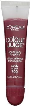 LOreal Paris Colour Juice Sheer Juicy Lip Gloss Candy Apple