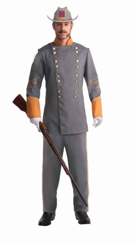 Forum Novelties Men's Civil War Confederate Officer Plus Size Costume