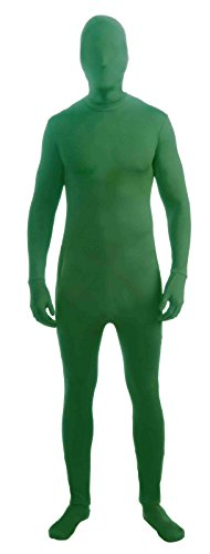 Disappearing Green Morph Suit Invisible Man Size:Adult XL