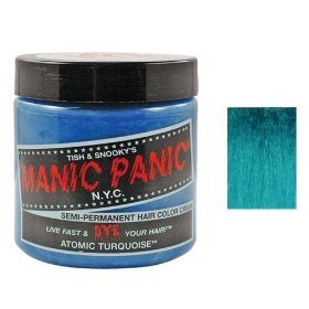 Manic Panic Hair Dye Atomic Turquoise Blue/Green Color