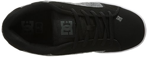 DC Men's Net SE Skate Shoe, Black Marl, 11 M US