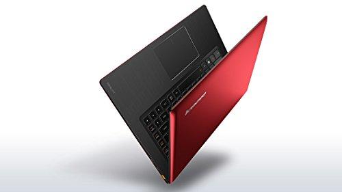 "Lenovo Ideapad U430P Ultra-Portable Ultrabook / Notebook Red - Intel Dual Core I3-4010U 1.70Ghz Base Cpu 3Mb/L3, 4Gb Ddr3L-1600, 500Gb Sata 5400Rpm Hard Drive, 14.0"" Hd Wxga 1366X768 Led Backlight Vibrantview Display, 720P Hd Webcam, Intel Centrino N-7260"