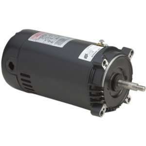 Century Electric Ust1102 1-Horsepower Up-Rated Round Flange Replacement Motor (Formerly A.O. Smith)