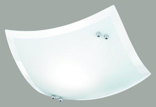 lampada da soffitto colore vetro bianco satinato