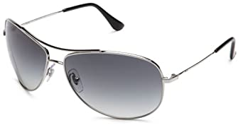 Ray-Ban RB 3293 Sunglasses Styles - Silver Frame / Gray Gradient Lenses, RB3293-003-8G-67