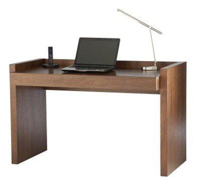 CAMPBELL, Home Office Desk in Walnut Veneer