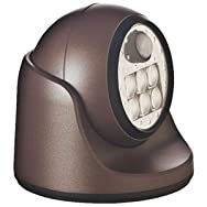 Porch Motion Floodlight-BRONZE 6 LED PORCH LIGHT