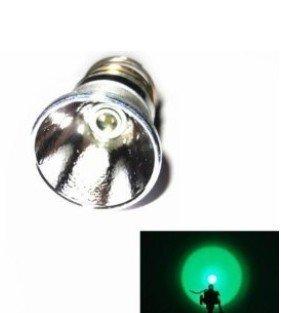 Flashlight Torch Spare Bulb 3W Led150 Lumens Single Mode Green Led For 501B 502B Flashlight Surefire Hugsby Etc