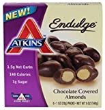 Atkins Endulge Chocolate Covered Almonds -- 5 Packs