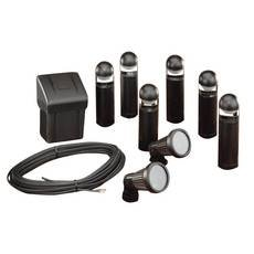 Complete Low Voltage Landscape Lighting Kit Home Improvement