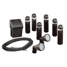 com complete low voltage landscape lighting kit home improvement