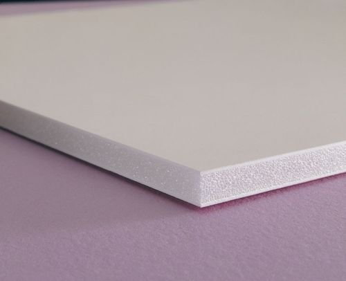 Celtec Expanded PVC Sheet, Satin Smooth Finish, 6mm Thick, 24