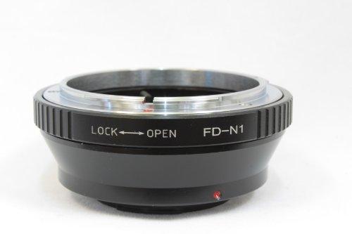 Pixco キャノン FD New FD マウント レンズ → ニコン 1 nikon 1 マウント ボディ アダプター N1 J1 J2 J3 S1 V1 V2 など 並行輸入品