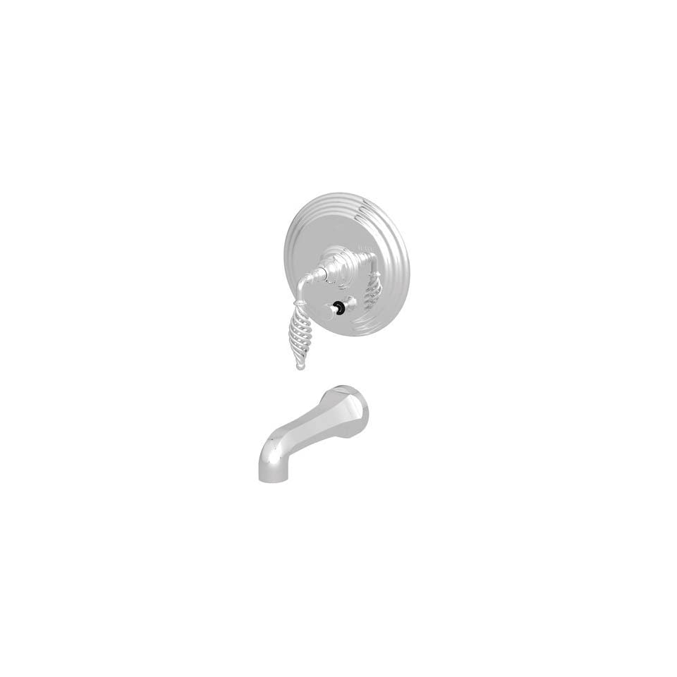 Newport Brass 4 2102BP Fairfield Single Handle Tub and Shower Valve Trim Kit wit, Biscuit