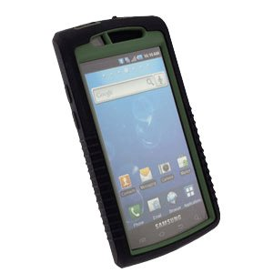 Trident Samsung SGH-I897 Captivate Cyclops Case Ballistic Green Moisture Resistant Anti-Dust New