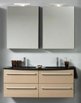 badm bel test badm bel set 130cm waschbecken spiegelschrank. Black Bedroom Furniture Sets. Home Design Ideas