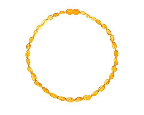 Raw-Baltic-Amber-Teething-Necklaces-For-Babies-Unisex-Honey-Olive-Anti-Flammatory-Drooling-Teething-Pain-Reduce-Properties-Natural-Certificated-with-the-Highest-Quality-Guaranteed
