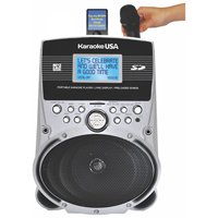 Emerson SD514 Portable Karaoke Player With 100 Pre-Loaded Karaoke Songs MP-3 Music & Lyric and Preloaded Songs