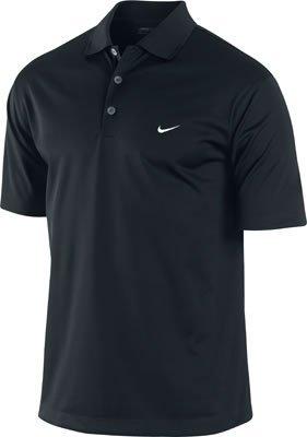 NIKE UV Stretch Tech Solid Golf Polo Shirt Black X-Large
