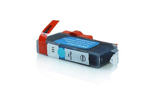 Inkadoo® Tinte passend für Canon Pixma MP 640 Series ersetzt Canon CLI-521 M , CLI-521M2935 B 001 , 2935B001 , 2935B001AA - Premium Drucker-Patrone Kompatibel - Magenta - 8,4 ml