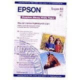 Epson Premium Photo Paper Glossy 255gsm A3plus Ref S041316 [20 Sheets]