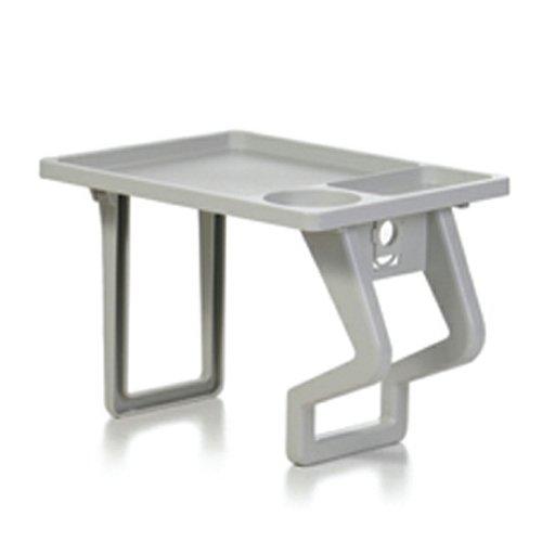Aquatray Spa Side Table Gray front-98071