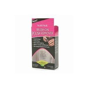 Nutra Nail Brush-On Polish Remover plus Green Tea Antioxidants 1 fl oz (30 ml)