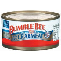 Bumble Bee Premium Select Fancy White Crabmeat 6 oz (Pack of 12)
