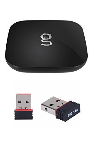 Newest Matricom G-Box Q2 Quad/Octo Core XBMC/Kodi Android TV Box [2GB/16GB/4K] (Rev 1.2+) With HDMI CABLE & FREE WIFI DONGLE PACKAGE (Gbox Quad compare prices)